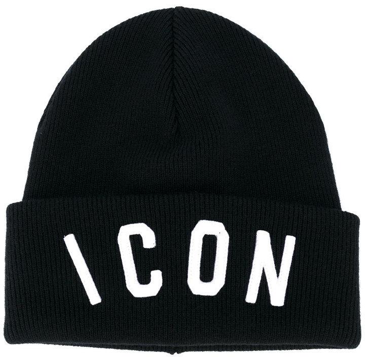 DSQUARED2 Icon Slogan Beanie Hat
