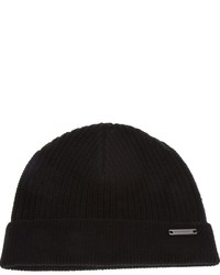 9ed24197e7f Burberry London Ribbed Trim Beanie
