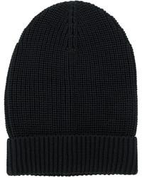 Dolce & Gabbana Ribbed Detail Beanie Hat
