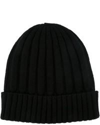Dolce & Gabbana Ribbed Knit Beanie Hat