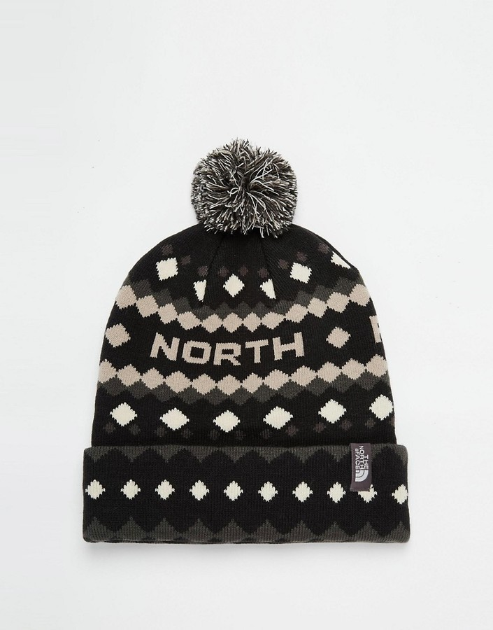 new arrival c7a9d ae483 ... The North Face Ski Tuke Bobble Beanie Hat ...