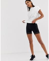 Fashionkilla Legging Short Co Ord In Black