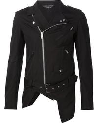 Comme des Garcons Comme Des Garons Homme Plus Cut Out Biker Jacket