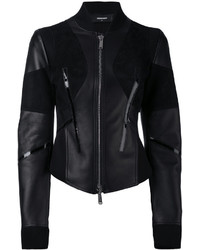 Dsquared2 Fitted Moto Jacket