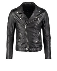 Rocker leather jacket black medium 3832584