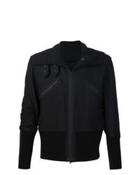 Ann Demeulemeester Zipped Biker Jacket Black