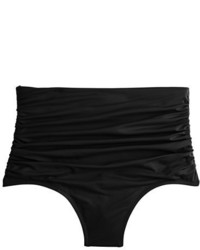 J.Crew High Waisted Ruched Bikini Bottom