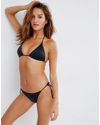 Asos Multi Pack Triangle Bikini Top And Tie Side Bikini Bottom