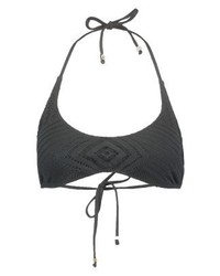 Ralph Lauren Scoop Bikini Top Black