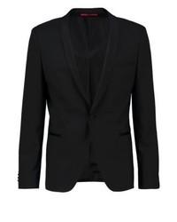 Hugo Boss Alstons Suit Jacket Black