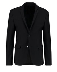 Calvin Klein Bilan Slim Fit Suit Jacket Black