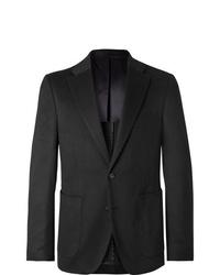 Salle Privée Black Lunt Slim Fit Cashmere Blazer