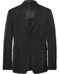 Prada Black Slim Fit Nylon Blazer