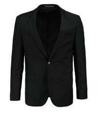 Tommy Hilfiger Butch Fitted Suit Jacket Black