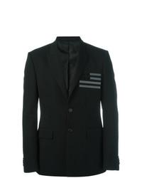 Givenchy Flag Detail Blazer Black