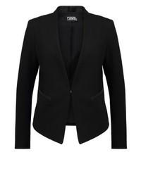 Karl Lagerfeld Ikonik Punto Blazer Black