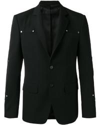 Givenchy Logo Stud Blazer