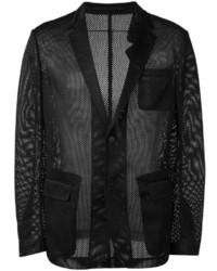Givenchy Mesh Effect Blazer