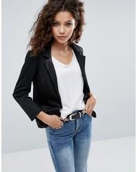 Asos Ponte Blazer With Tailored Collar