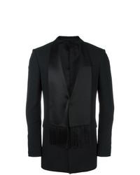 Givenchy Scarf Lapel Blazer Black