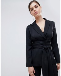 ASOS DESIGN Soft Wrap Blazer