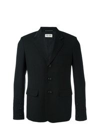 Saint Laurent Trim Detail Jacket Black