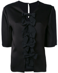 Fendi Bow Blouse