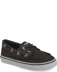 Black Boat Shoes