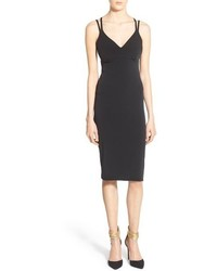 Leith Ruched Back Body Con Dress