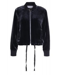 J.Crew Bomber Jacket Midnight Navy