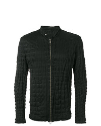 Issey Miyake Men Crinkled Zip Up Jacket