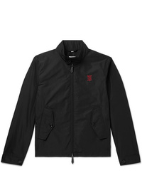 Burberry Logo Embroidered Shell Jacket