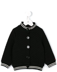 Rykiel Enfant Striped Edge Bomber Jacket