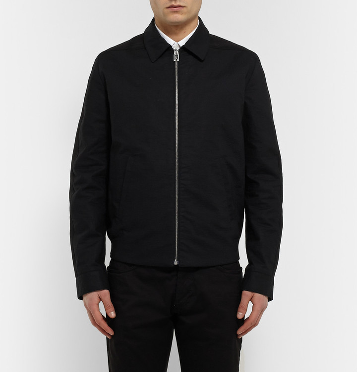 85b100aff Textured Cotton Bomber Jacket