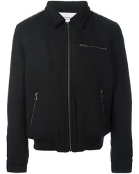 Les Benjamins Zipped Bomber Jacket