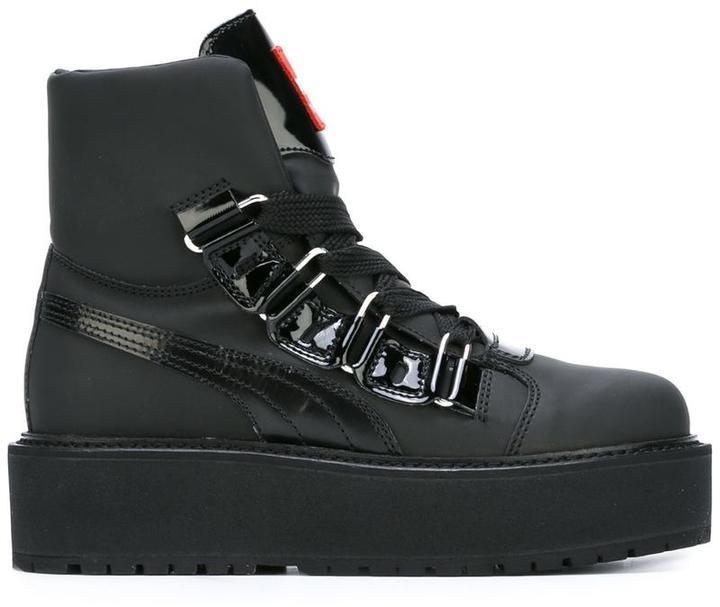 on sale 73d73 8760b Fenty Platform Boots