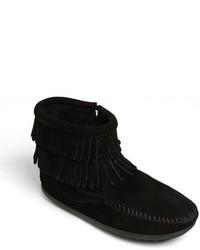 Minnetonka Girls Double Fringe Boot