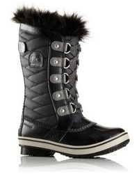 Sorel Kids Tofino Ii Faux Fur Cuff Quilted Snow Boots