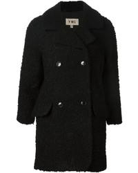 Black Boucle Coat