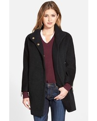 T Tahari Madison Wool Blend Boucl Coat