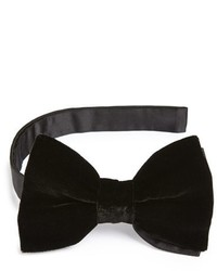 Lanvin New Albert Velvet Bow Tie