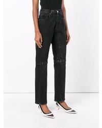 Christopher Kane Boyfriend Velcro Jeans