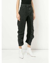 Stella McCartney High Waist Ruched Jeans