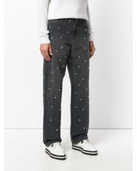 Etoile Isabel Marant Isabel Marant Toile Round Studs Boyfriend Jeans