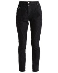 Opus Levy Pure Relaxed Fit Jeans Charcoal Black