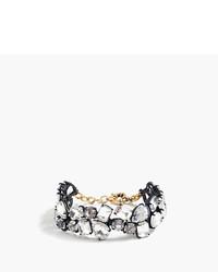 J.Crew Double Strand Crystal Bracelet