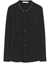 Black button down blouse original 4299539