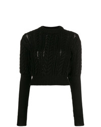 Philosophy di Lorenzo Serafini Cable Knit Jumper