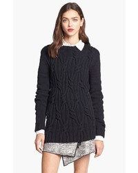 Felix cable knit sweater medium 38153