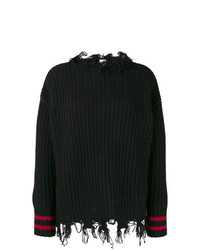 Pinko Frayed Trim Jumper